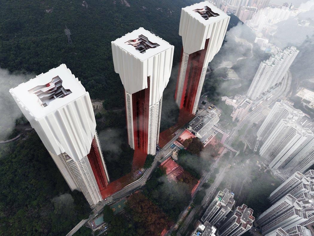 Hong Kong Edifcios Mas Altos Aun